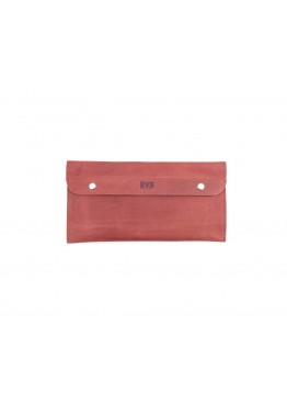 Клатч Level Crazy Horse Hide Red