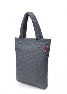 Стеганая сумка PoolParty NS Quilted Fir Dark Grey