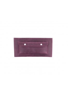 Клатч Level Crazy Horse Hide Burgundy