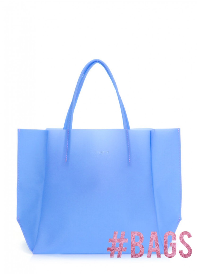 3598e2e18d22 Прозрачная сумка PoolParty Soho Gossip Blue купить в Киеве, цены на ...